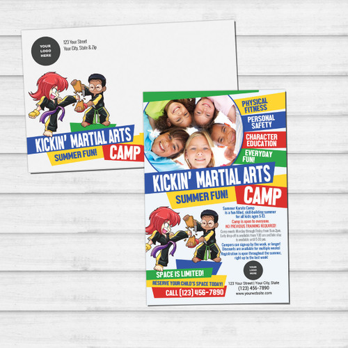 *NEW!! Kickin' Martial Arts Camp