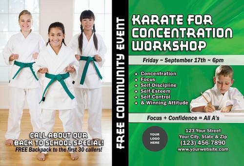 Karate for Concentration Workshop V1