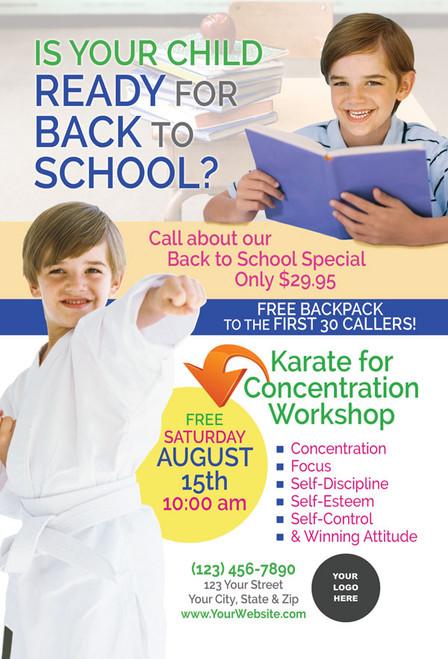 *NEW* Back to School Karate for Concentration V4