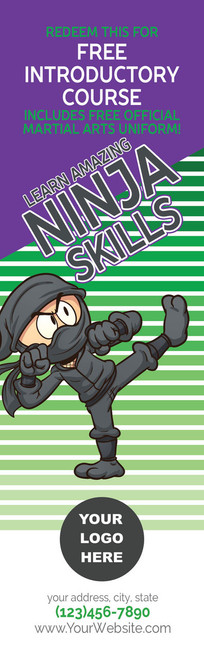 *NEW* Ninja Skills Intro Course Bookmark