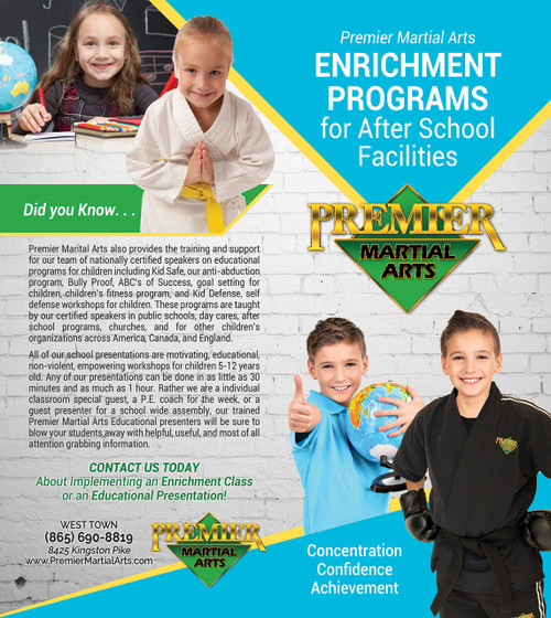 *NEW!! PMA Enrichment Programs Brochure