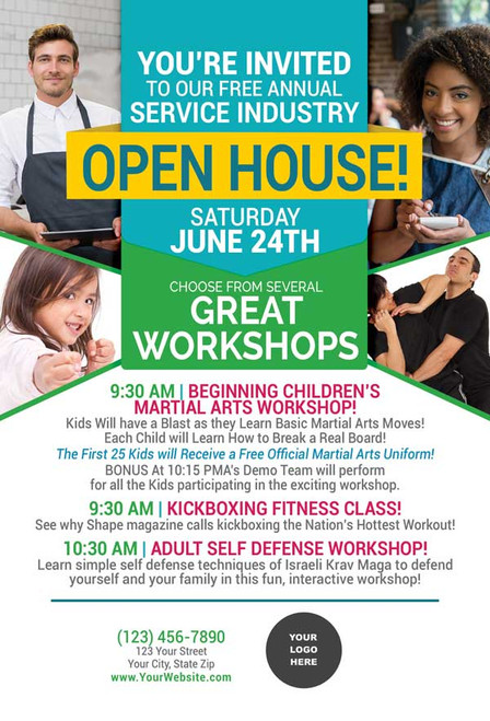 *NEW!! Service Industry Open House