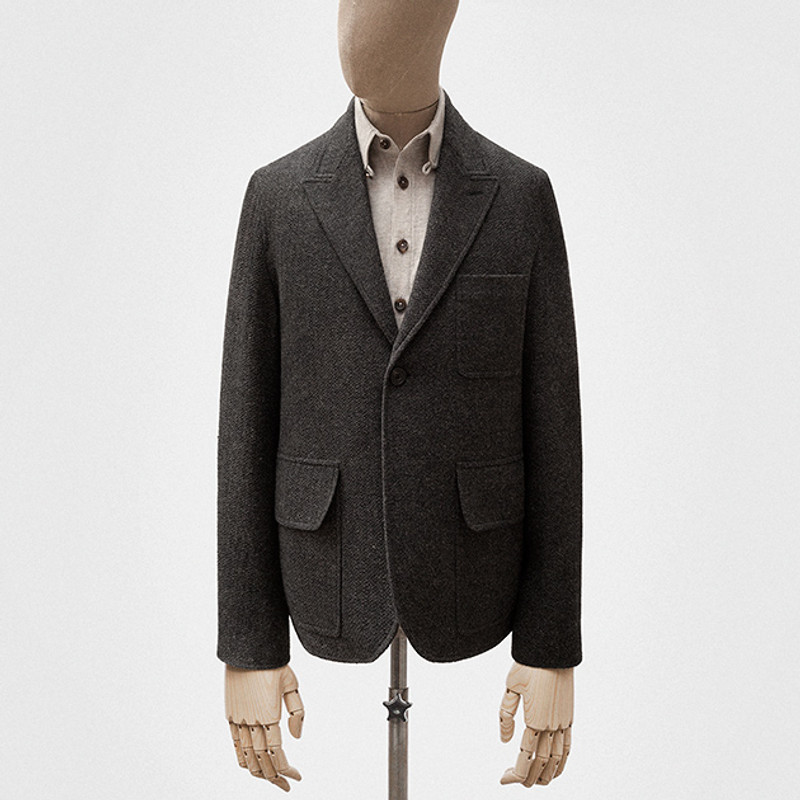 SB1 Jacket, Lead Grey