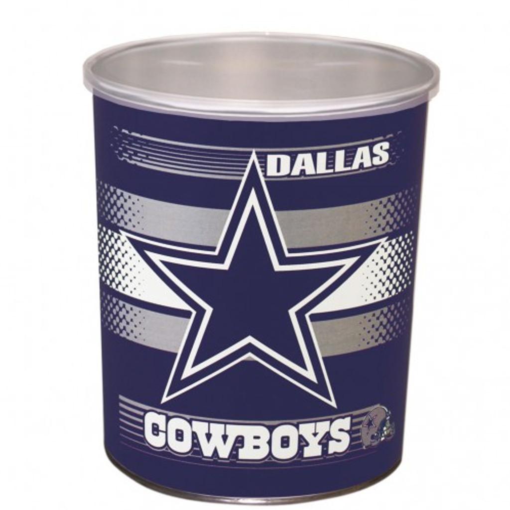 Dallas Cowboys 1 Gallon Tin