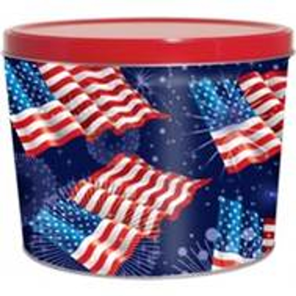 American Flag 2 Gallon