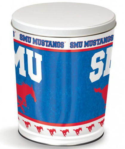 SMU Mustang 3 Gallon Tin