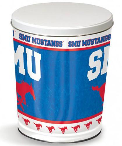 SMU Mustang 3 Gallon Tin