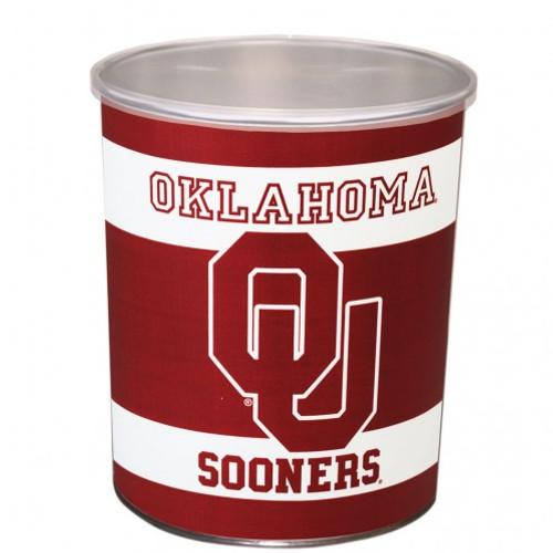 Oklahoma Sooner 1 Gallon Tin