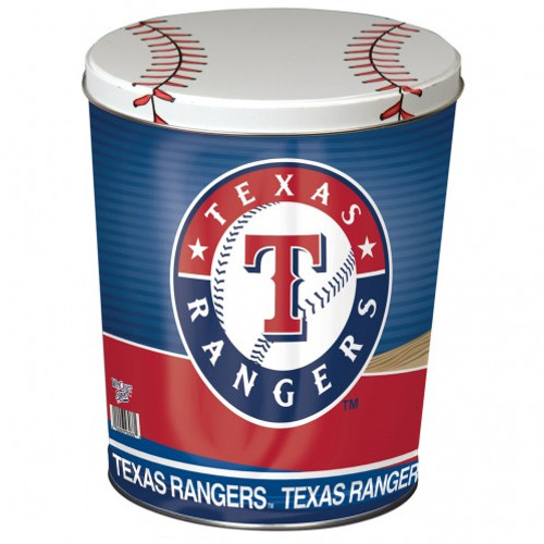 Texas Rangers 3 Gallon Tin