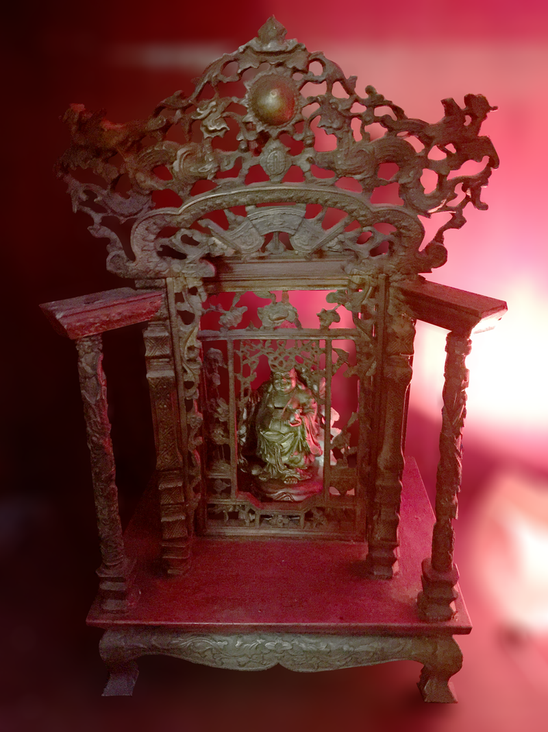 Authentic 200 yr old Buddha Temple