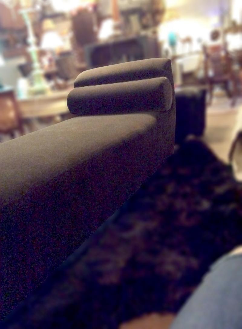 Designer Brown Velvet Lounge