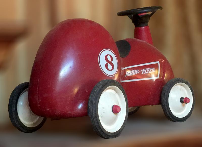 Authentic Radio Flyer Push Toy