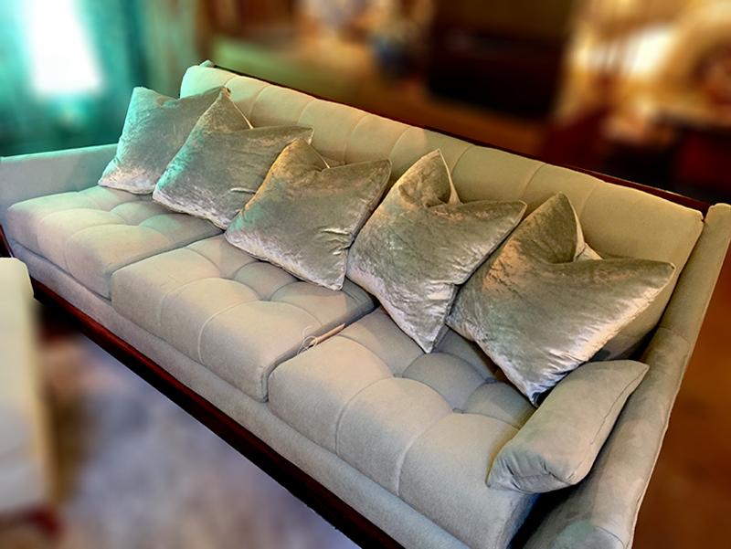 High-End Crushed Velvet Pillows Custom VGH Item