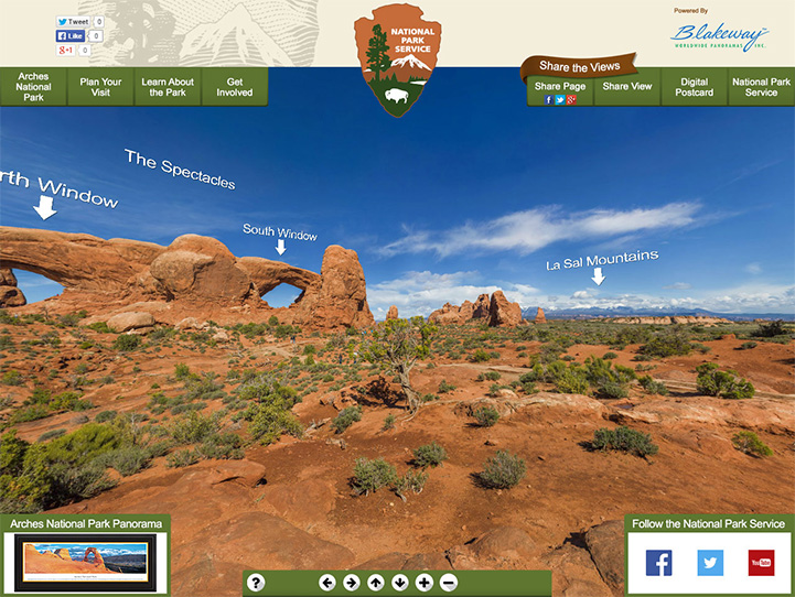 Arches National Park 360 Gigapixel Photo
