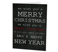"""Merry Christmas"" Card"
