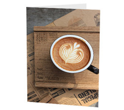 """Latte Heart"" Card"