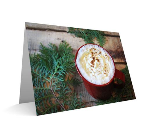 """""""A Christmas Cup"""" Card"""