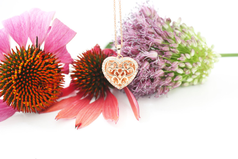 Introducing the Mary Heart Locket....