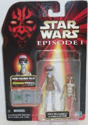 """STAR WARS """"COMMTECH ODY MANDRELL + OTOGA 222 PIT DROID"""""""