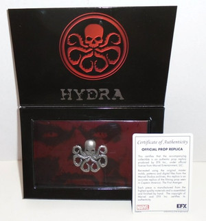 "CAPTAIN AMERICA THE FIRST AVENGER ""HYDRA LAPEL PIN"""