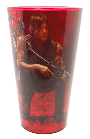The Walking Dead Daryl Bike pint glass