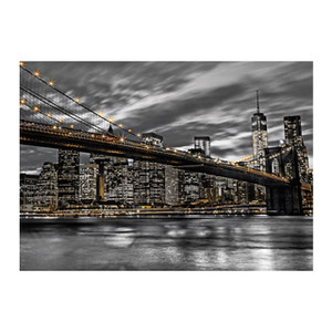 """NEW YORK CITY """"ASSAF FRANK"""" 40in x 60in Subway Poster/Mural"""