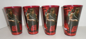 The Walking Dead Daryl Bike pint glass set of 4