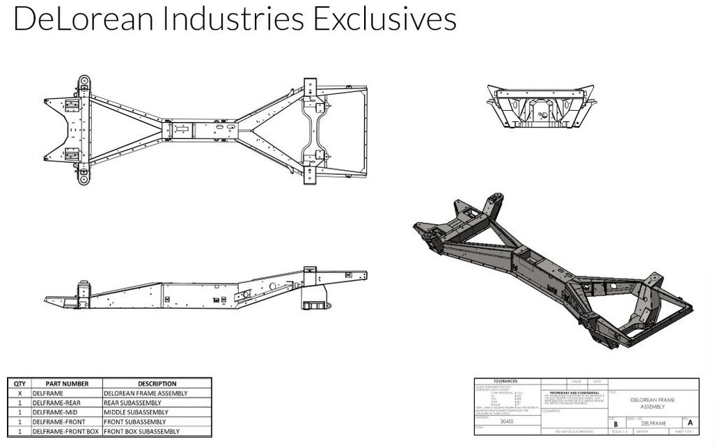 Delorean Industries | Parts, Service, Performance, Restoration and ...