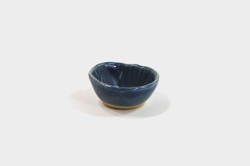 Mashiko-Yaki Blue Shoyu Dish