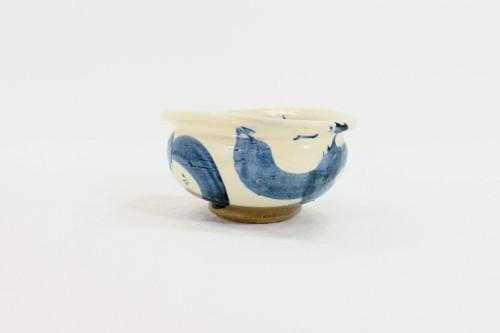 Mashiko-Yaki Blue Bowl