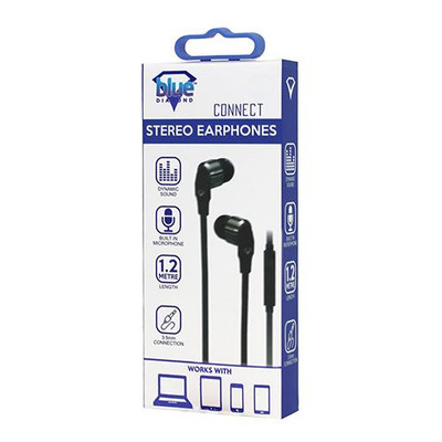 HANDS FREE EARPHONE (BLACK)