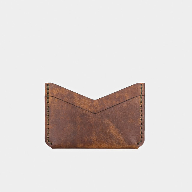 Slim Card Wallet - Tobacco