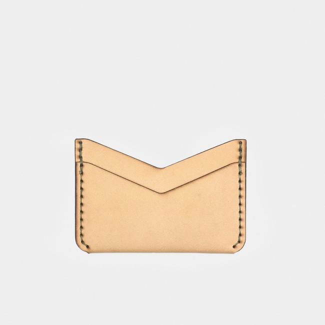 Slim Card Wallet - Natural