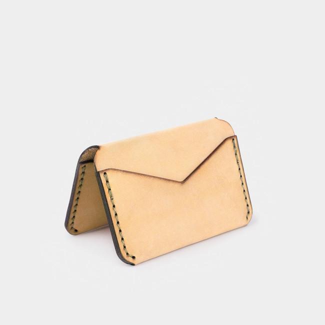 Folding Card Wallet - Natural