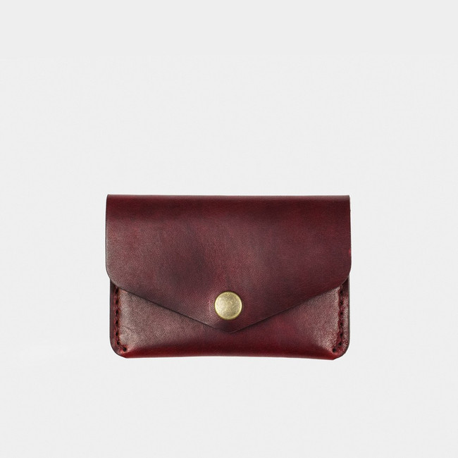 Snap Wallet - Burgundy