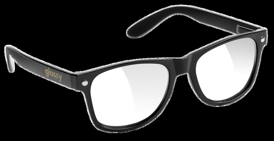Leonard - Black/Clear Lens
