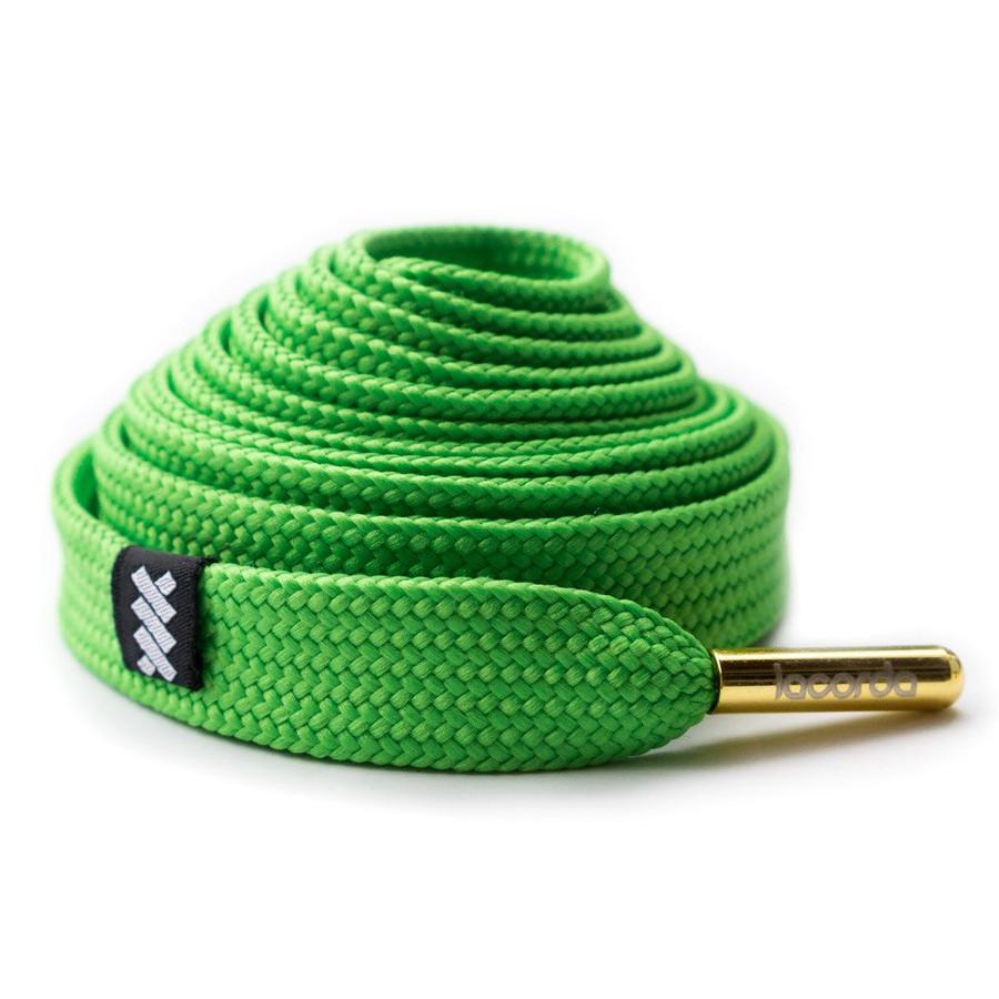 Lacorda - OG Lime Green Shoelace Belt