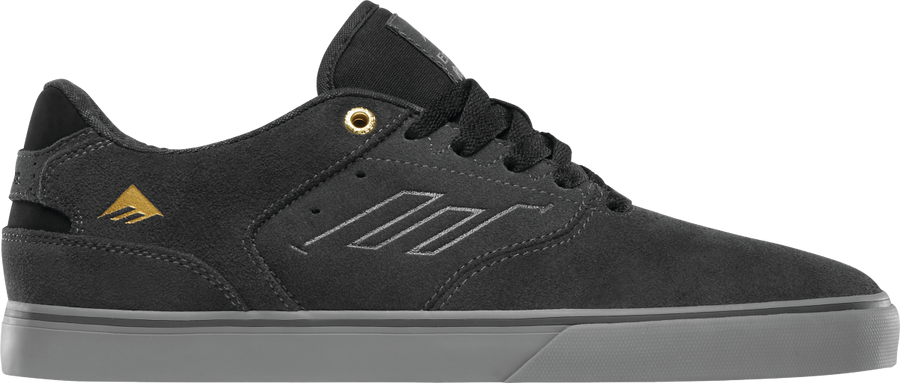 The Reynolds Low Vulc - Dark Grey/Grey