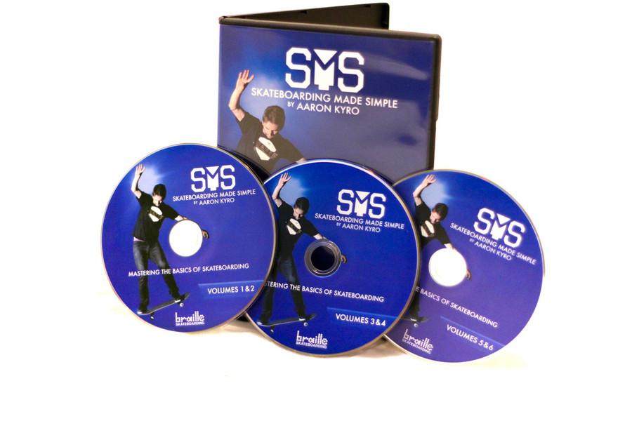 SMS 1-6 MASTER SKATEBOARDING - DVD