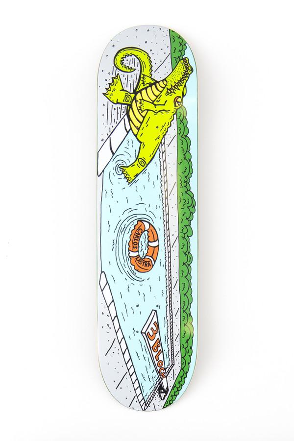 Carlos Lastra Pool Gator - Deck