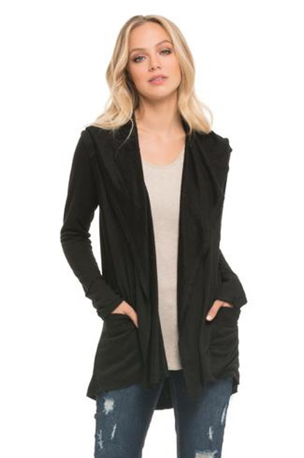 Hoodie Jacket with Pockets