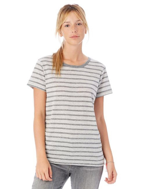 Ideal Striped Eco Jersey Tee