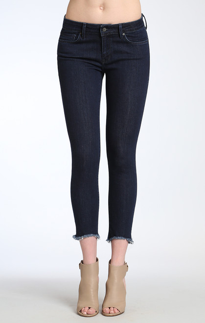 Adriana Ankle Super Skinny in Rinse Tribeca