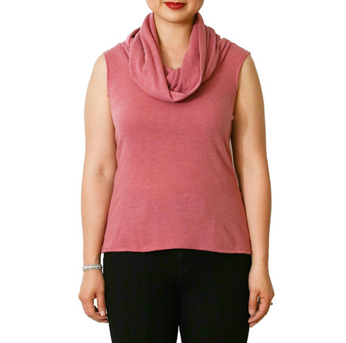 Evelyn sleeveless sweater {Pink}