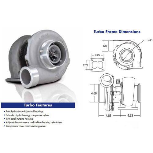 Precision 6262 Cea: Precision Turbo Billet CEA 6766 935HP Turbocharger