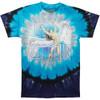 Liquid Blue Led Zepplin Swan Song Tie Dye Tee LT, XL, 2X, 3X, 4X, 5X, 6X, 8X
