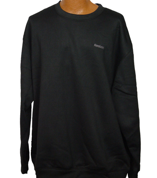 Black Reebok Crew Neck