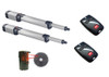 BFT Kustos Ultra BT UL A40 KR935317 00005 Dual Swing Gate Opener kit with Photo Eye and 2 Mitto Remotes - BFT-SWKIT2