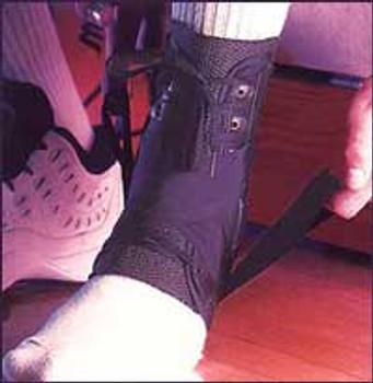Exoform SPEED BRACE Ankle Brace w/Straps Royce Ossur