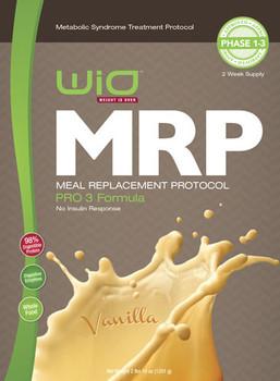 MRP Meal Replacement Shake -  Vanilla PRO 3